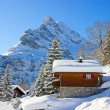 Winter in alps — Foto Stock