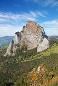 Autumn in alps — Stock fotografie