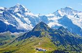 Mount jungfrau — Stockfoto