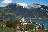 Spiez castle — Foto Stock