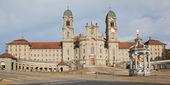 Benediktinerklostret i einsiedeln — Stockfoto