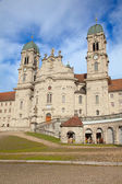 Benedictine abbey of Einsiedeln — Stock Photo