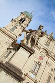 Benedictine abbey of Einsiedeln — Stock Photo