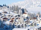 Winter in the alps — ストック写真
