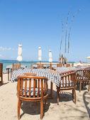 Balinese Jimbaran beach — Stock Photo