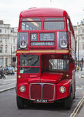 London's doubledecker — Stockfoto