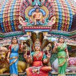 Hindu temple in Singapore — Stock Photo #15721237