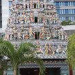 Stock Photo: Hindu temple in Singapore