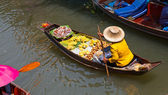 Floating Market — Stockfoto