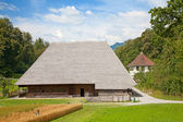 Swiss farm house — Stock Photo
