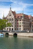 Zurique no verão — Fotografia Stock