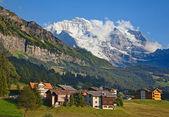 Mount Jungfrau — Stock Photo