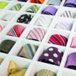 Stock Photo: Silk neckties