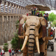 The Great Elephant of Nantes — Stock Photo