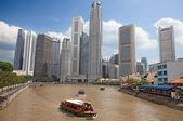 Singapore rivier — Stockfoto