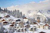 Zima w alpach — Zdjęcie stockowe