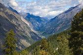 City Zermatt — Stock Photo