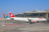 Aeropuerto de tambo johannesburgo — Foto de Stock