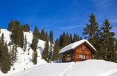 Zimowy krajobraz — Zdjęcie stockowe