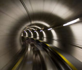 Through the tunnel — Stock Photo