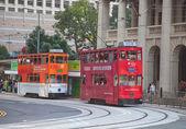 Tram van hongkong — Stockfoto