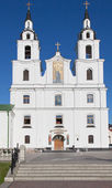 The cathedral of Holy Spirit in Minsk — Stock Photo