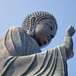 Giant Buddha complex — Stock Photo