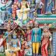 Hindu temple in Singapore — Stock Photo
