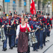 Swiss National Day parade in Zurich — Stock Photo #24450371