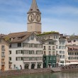 Stock Photo: Zurich in summer