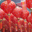 Chinese red lamps — Stock Photo