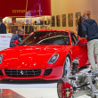 The Ferrari 599 GTB Fiorano - Stock Photo