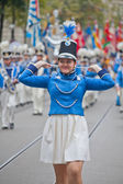 Schweiziska nationaldagen parad i zürich — Stockfoto