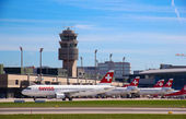 Zurich Airport — Stock Photo