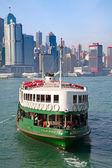 Hong Kong ferry — Stock Photo