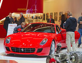 The Ferrari 599 GTB Fiorano — Stock Photo
