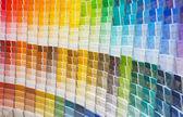 Próbki farby — Zdjęcie stockowe