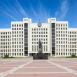 Parliament building in Minsk. Belarus — Stock Photo #26319565