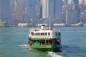 χονγκ κονγκ πλοίο — Φωτογραφία Αρχείου