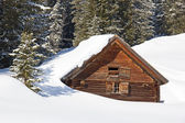 Winter in alps — Stockfoto