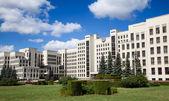 Parliament building in Minsk. Belarus — Foto de Stock