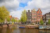 Holländische häuser — Stockfoto