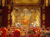 Buddha tooth temple — Stock Photo