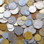 International coins — Stock Photo #34706493