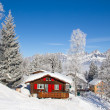 Winter in de Alpen — Stockfoto #34706785