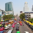 Traffic Jam in Bangkok — Stock Photo