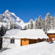Winter in alps — Stock Photo #34707391