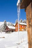 Winter in alps — Стоковое фото