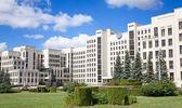 Parliament building in Minsk. Belarus — Stock Photo
