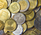 Israeli Coins — Stock Photo